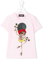 DSQUARED2 printed T-shirt - kids - Cotton/Wool - 4 yrs