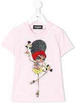 DSQUARED2 printed T-shirt - kids - Cotton/Wool - 6 yrs