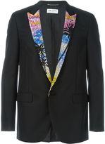Saint Laurent sequin lapel blazer