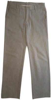 Bless Blue Cotton Trousers