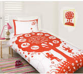 Bees Knees Red Quilt Cover Set