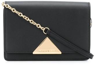 Emporio Armani Triangle Logo Crossbody Bag