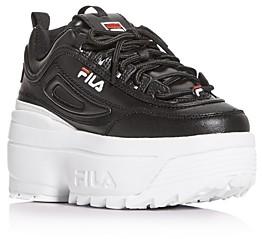 Fila Women's Disruptor Ii Wedge Platform Low-Top Sneakers