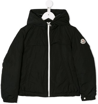 Moncler Enfant Hooded Shell Jacket
