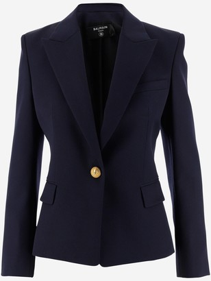 Balmain Tailored Slim Fit Blazer