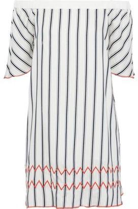Charli Nerva Off-the-shoulder Jacquard Mini Dress