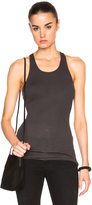 Enza Costa Rib Fitted Racer Tank Top