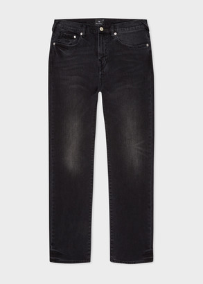 Paul Smith Men's Tapered-Fit 'Black Stretch' Mid-Wash Jeans
