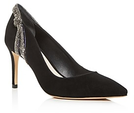Sophia Webster Women's Giovanna Crystal Embellished Pointed-Toe Pumps