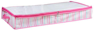 Laura Ashley Under the Bed Storage Bag in Painterly Pink Stripe