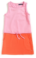 Tommy Hilfiger Final Sale- Colorblocked Sleeveless Dress