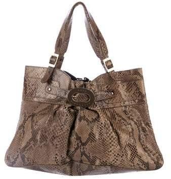 Anya Hindmarch Python Shoulder Bag