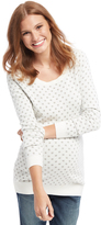 Motherhood Dot Maternity Sweater
