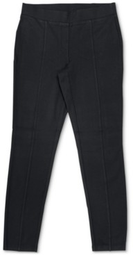Style&Co. Style & Co Petite Seam-Front Pull-On Pants, Created for Macy's