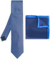 Lanvin tie and pocket square set