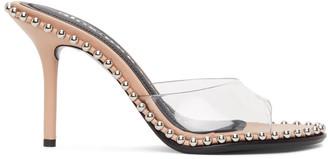 Alexander Wang Beige Nova 85 Heeled Sandals