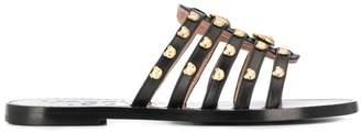 Moschino teddy studs sandals