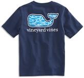 Vineyard Vines Boys' Marlin Print Whale Tee