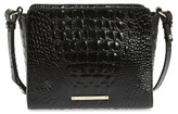 Brahmin Melbourne Carrie Leather Crossbody Bag - Black
