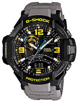 G-Shock Aviator Resin Band Stainless Steel 3 Hand Multifunction World Time Watch
