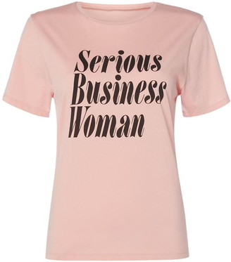 ban.do Serious Business Woman T-Shirt
