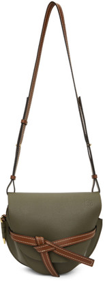 Loewe Khaki Small Gate Bag