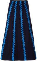 Kenzo zig-zag knit skirt