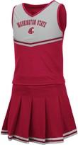 Colosseum Girls Youth Crimson Washington State Cougars Pinky Cheer Dress