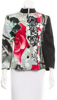 Giorgio Armani Structured Floral Print Jacket