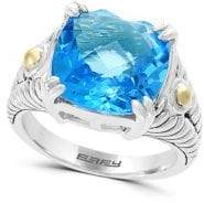 Effy 18K Gold and Blue Topaz Ring