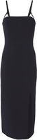 Dion Lee Linear Crepe Bustier Dress