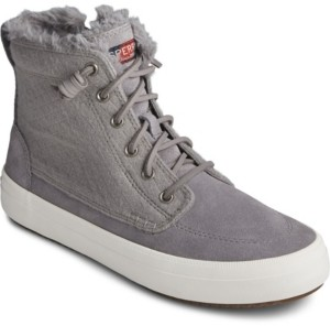 Sperry Women's Crest Lug High Top Suede Sneaker Women's Shoes