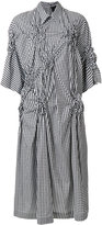 Simone Rocha checked shirt dress - women - Cotton - 8