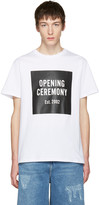 Opening Ceremony White Logo T-Shirt