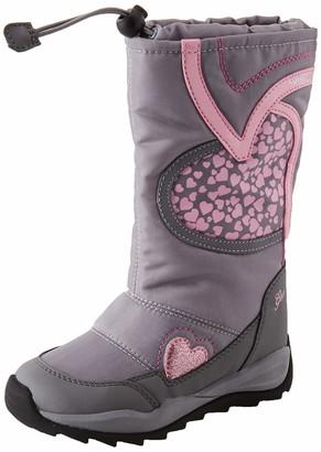 Geox Girls' J Orizont B ABX A Snow Boots