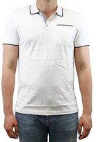 Calvin Klein Men's Multi Count Stripe Polo Shirt with Tipping