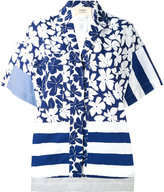 Ports 1961 oversize printed shirt - women - Cotton - 42