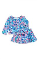 Girl's Lilly Pulitzer Mini Carlita Top & Skirt Set