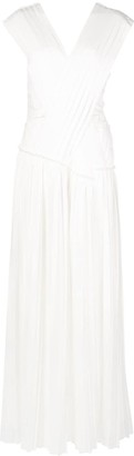 3.1 Phillip Lim Knife pleated crossover dress