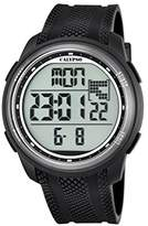 Calypso Unisex Digital Watch with LCD Dial Digital Display and Black Plastic Strap K5704/8