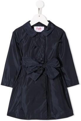 Il Gufo Waterproof Tie-Waist Coat