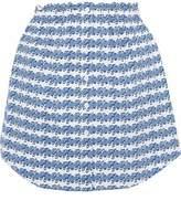 Opening Ceremony Printed Cotton Mini Skirt