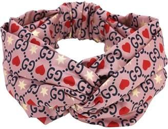 Gucci Gg Printed Silk Headband