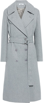 Rodebjer Nastagia Double-breasted Brushed Wool-blend Twill Coat