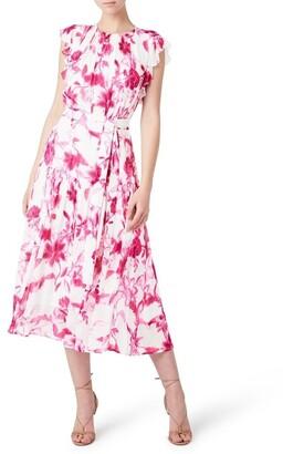 David Lawrence Celia Midi Dress