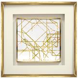 Upclose Gold Cubed I & II by SDG (Framed)