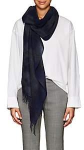 Pas De Calais Women's Tie-Dyed Cashmere Gauze Scarf - Navy