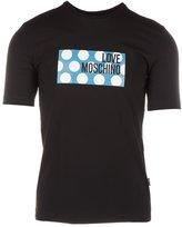 Love Moschino men's short sleeve t-shirt crew neckline jumper US size M 4 731 04 E 1514 C7