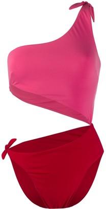 Sian Swimwear Carmen two-tone swimsuit