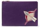 Diane von Furstenberg Zodiac Leather Pouch